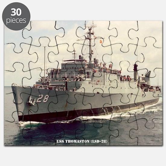 thomaston framed panel print Puzzle