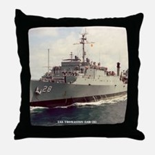 thomaston framed panel print Throw Pillow
