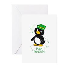 Irish Penguin Greeting Cards (Pk of 10)