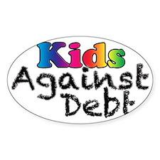 Kids Against Debt Rainbow Decal