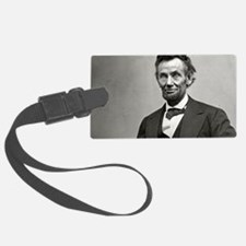 Abe Lincoln Luggage Tag
