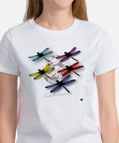 Dragonflies Around Some planet Tee