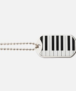 Piano Keys Dog Tags