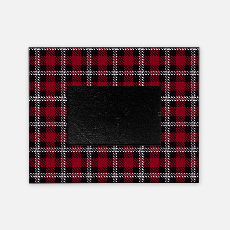 Vintage, Red Plaid, Picture Frame