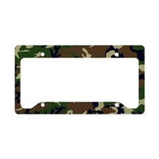 Camo License Plate Holder