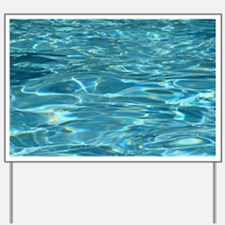 Crystal Clear Water Yard Sign