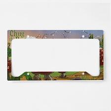 Bugalou Village License Plate Holder