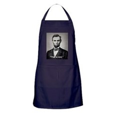 "Abe Lincoln ""That is cool."" Apron (dark)"