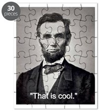 """Abe Lincoln """"That is cool."""" Puzzle"""