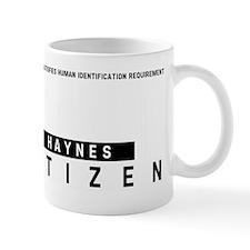 Haynes, Citizen Barcode, Mug