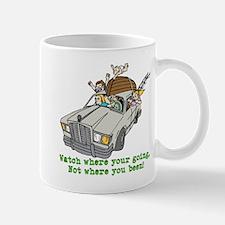 Watch Were Your Going Mugs