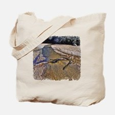 Dry Riverbed Stream Tote Bag