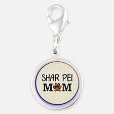 Shar Pei Dog Mom Charms