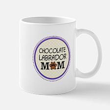 Chocolate Labrador Dog Mom Mugs