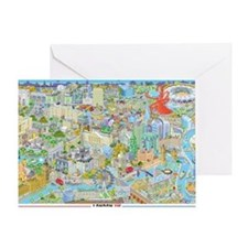 London and the Olympics Greeting Card