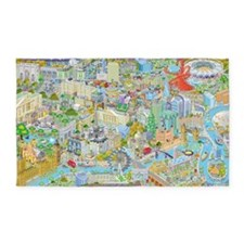 London and the Olympics 3'x5' Area Rug