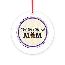 Chow chow Dog Mom Ornament (Round)