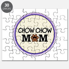 Chow chow Dog Mom Puzzle