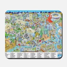 London and the Olympics Numbered and des Mousepad