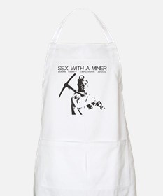 Sex with a Miner BBQ Apron