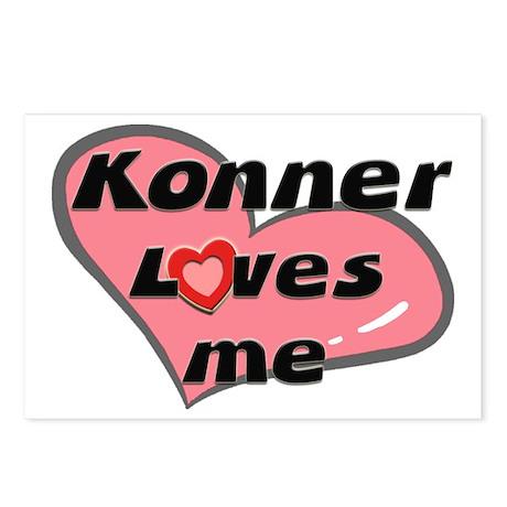 konner loves me Postcards (Package of 8)