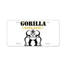 Gorilla Aluminum License Plate