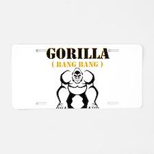 Gorilla Aluminum License Plate