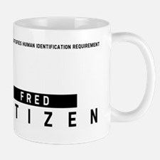 Fred, Citizen Barcode, Mug