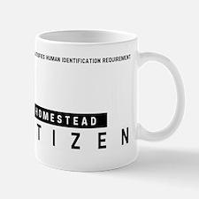 Homestead Citizen Barcode, Mug