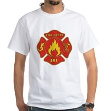 Fahrenheit 451 - Fire Deptt. red Shirt