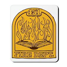 Fahrenheit 451 - Shield Insigna Mousepad