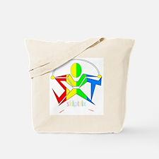 SXT LOGO - DARK B/GROUND Tote Bag