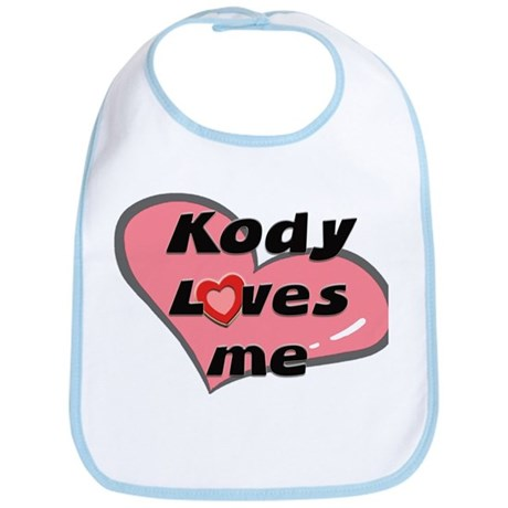 kody loves me Bib