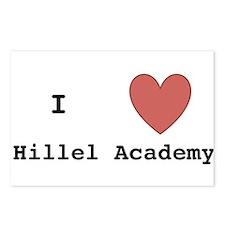 I Love Hillel Academy Postcards (Package of 8)