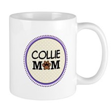 Collie Dog Mom Mugs