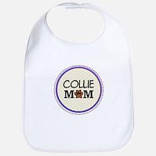 Collie Dog Mom Bib