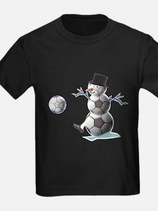 Soccer Christmas Snowman T