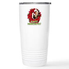 Treeing Walker Coonhound baying Travel Mug