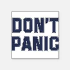 Don't Panic Rectangle Sticker