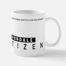 Irondale Citizen Barcode, Mug