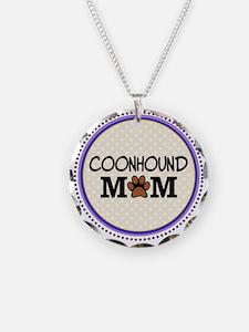 Coonhound Dog Mom Necklace