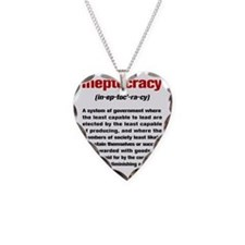Ineptocracydef Necklace