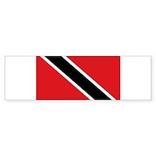 Trinidad & Tobago flag Bumper Bumper Sticker