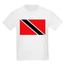 Trinidad & Tobago flag Kids T-Shirt