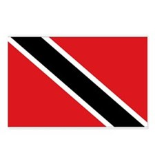 Trinidad & Tobago flag Postcards (Package of 8)