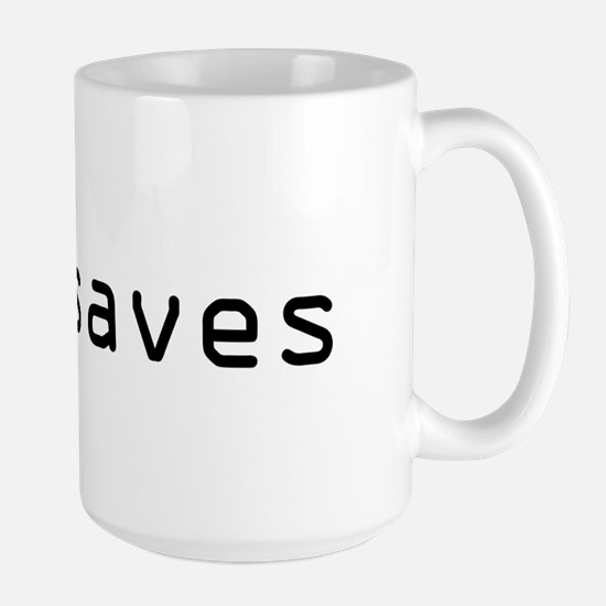 :w! saves Large Mug