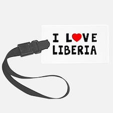 I Love Liberia Luggage Tag