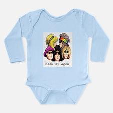 Funny Rock of ages Long Sleeve Infant Bodysuit
