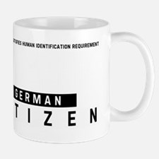 German, Citizen Barcode, Mug