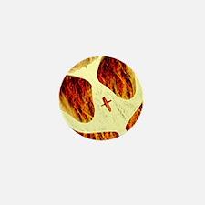 Spirit on Fire Mini Button